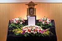 一日葬プラン 生花祭壇