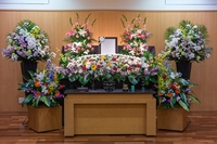 親族葬プラン 祭壇・装飾生花