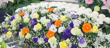 葬儀お花写真
